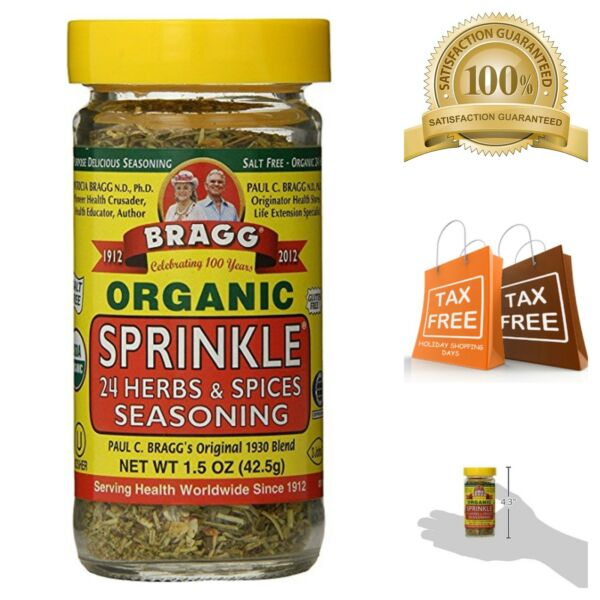 Bragg Sprinkle Herb and Spice Seasoning Blend of 24 Organic Herbs and Spices