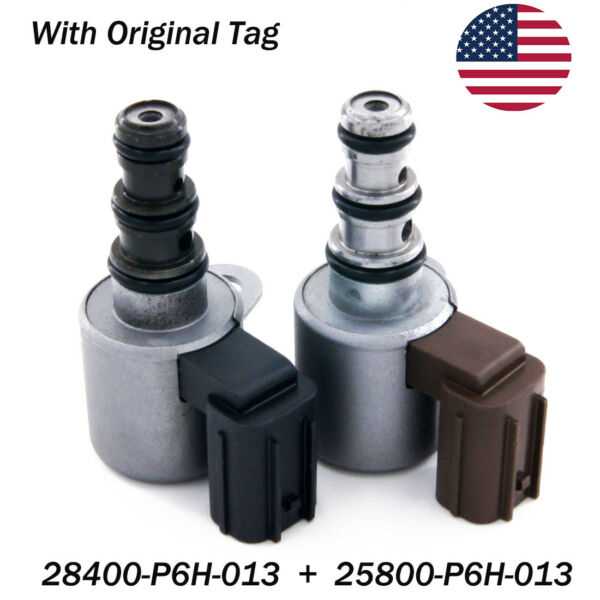 Transmission Shift Control Solenoid Valve B&C Kit Set for Honda Accord Acura