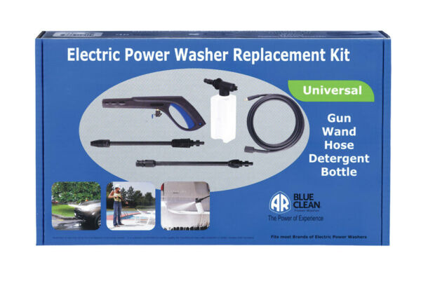Ar Blue Clean Elec. Pwr. Washer Univ. Replacement Kit 20 ' Quick Connect 140Deg
