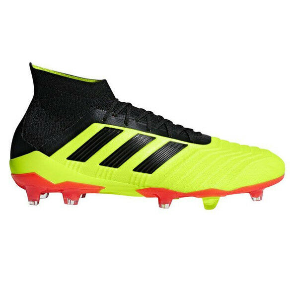 adidas Kids Predator 18.3 FG Solar Yellow/Core Black/Solar Red DB2319