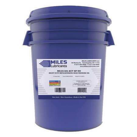 MILES LUBRICANTS MM2000703 HP Water Soluble Cutting Fluid5galPail