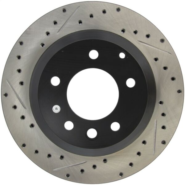 StopTech 127.33078R StopTech Sport Rotor Fits 03-18 Cayenne Q7 Touareg
