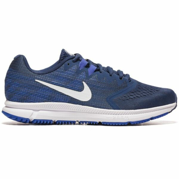Nike Air Zoom Span 2 Running Shoe navywhite-hyper royal-light carbon 908990-403