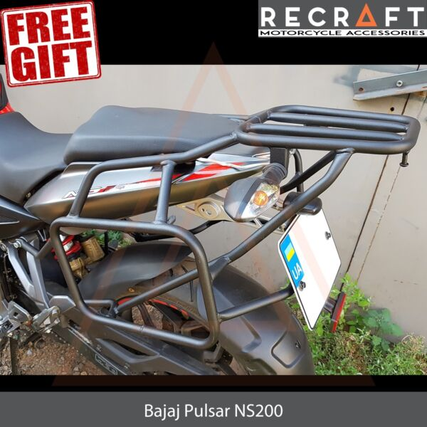 Whole welded Luggage universal rack system for Bajaj Pulsar NS200 GIFT $183.00
