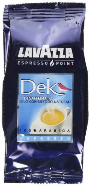 LavAzza Espresso Point Decaf Decaffeinated DEK Espresso Point Cartridges (50