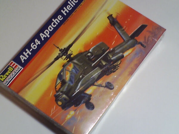 Revell Monogram AH-64 Apache Helicopter ~ FACTORY SEALED