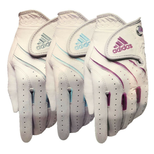 Adidas Adistar Women's Golf Gloves- Goes on Left Hand - Choose Size