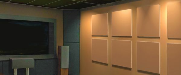 Acoustic Sound Panel Complete Studio Soundproofing Kit wBass Traps - BlK Burlap