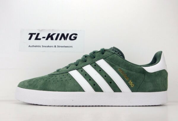 Adidas Originals 350 Trace Green White Gold Classic Sneaker BY9767 Msrp $80 FW