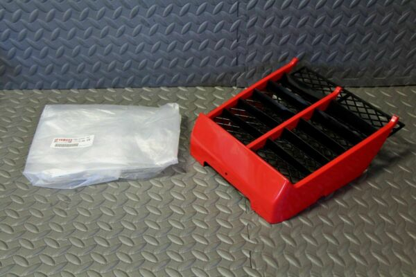 NEW Yamaha Banshee plastic OEM factory radiator cover grill RED 1987 2006 $130.79