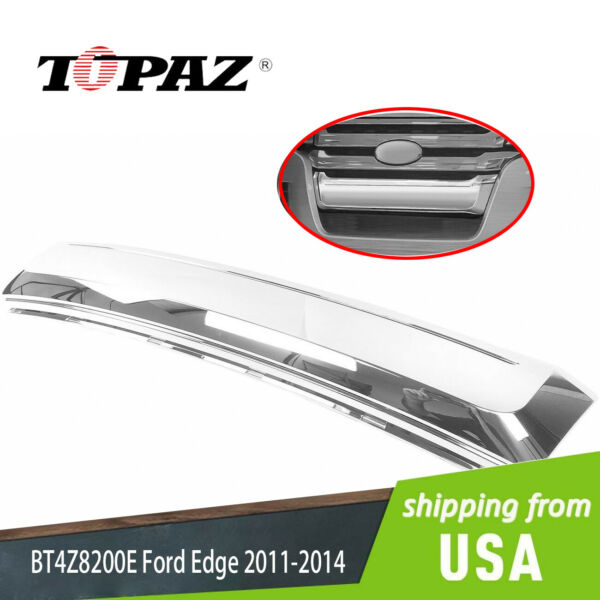 Front Lower Chrome Grille Moulding BT4Z8200E for 2011-2014 Ford Edge FO1087132
