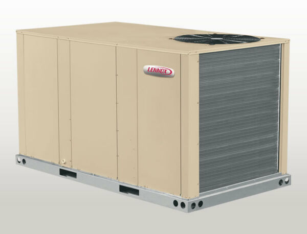 LENNOX 3 TON HEAT PUMP PACKAGE UNIT 208230V 3PH ECONOMIZER AC HEAT KHB036S4BN1Y