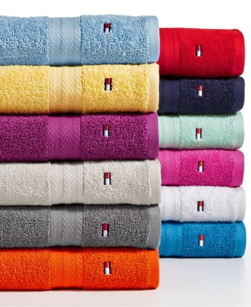 Tommy Hilfiger All American II Cotton Bath Towel Collection