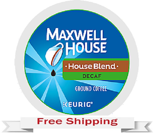 Keurig k-cups Maxwell House House DECAF Blend Coffee 216 count