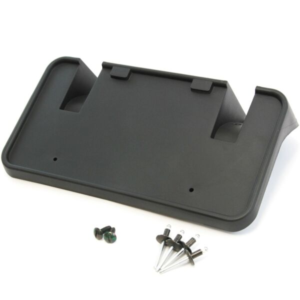 1999-2004 Fits Ford F250 SuperDuty Front License Plate Tag Bracket Holder w HW