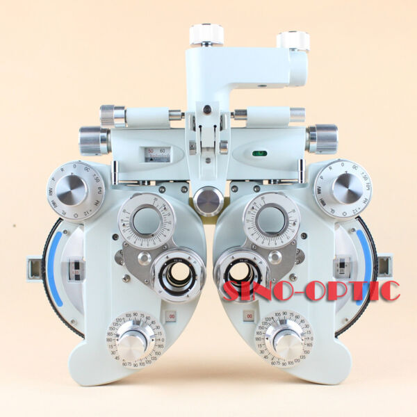 Top Quality Phoropter Optical Refractor Minus View Tester Silver grey Color