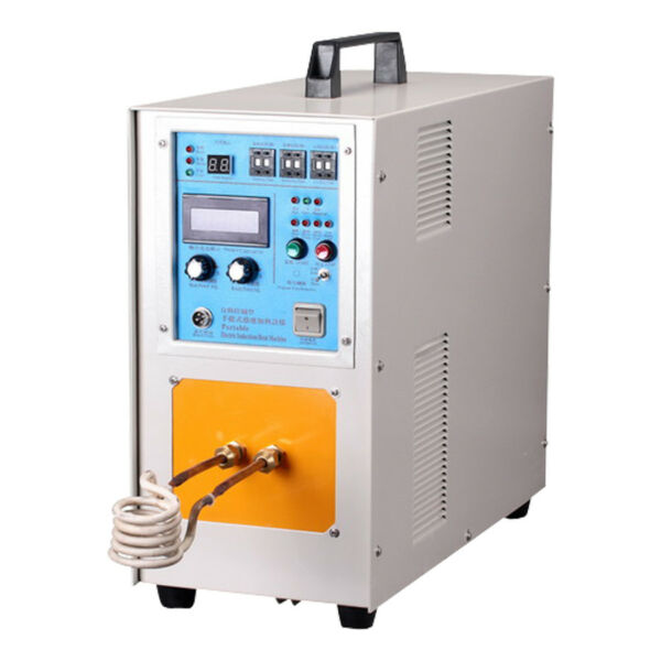 15KW 1500° High Frequency Induction Heating Melting Furnace Machine Welding