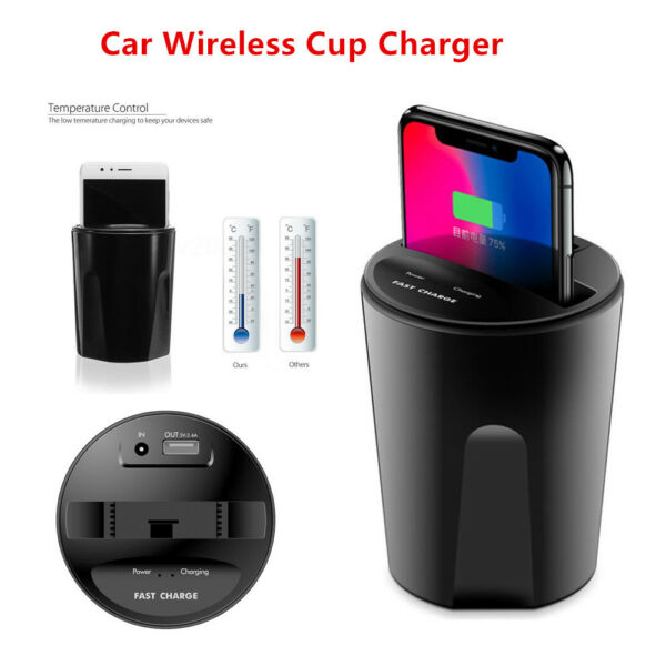 Cup Style Phone Charger USB Car Charging Dock For Blackberry Z30 iPhone7/6s/6/5