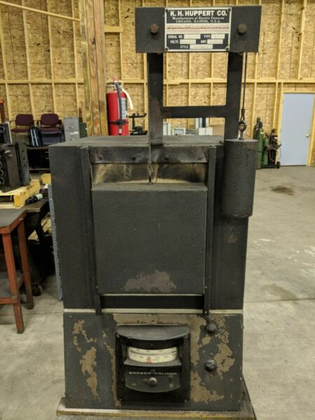 K.H. Huppert Co. Electric Heat Treat Furnace Style: ST