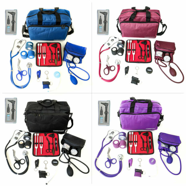 Nurse Starter Kit Stethoscope Blood Pressure Monitor and More 18 Pieces Total