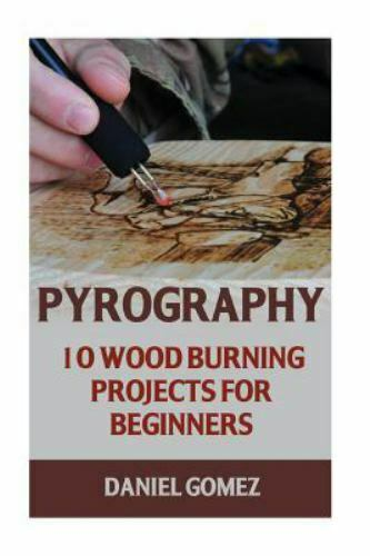 Pyrography : 10 Wood Burning Projects for Beginners Paperback by Gomez Dani...