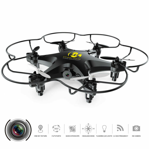 Cheerwing CW6 RC Hexacopter Mini Remote Control Quadcopter Drone w/2MP HD Camera