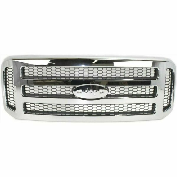 New Front Grille For Ford F-250 Super Duty 2005-2007 FO1200456