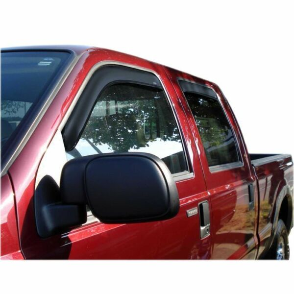 Side Window Vent-Ventvisor In-Channel Deflector 4 pc. fits F-350 Super Duty