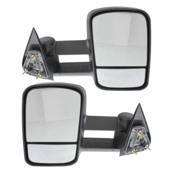 New Front Left and Right Side Power Towing Mirror Set For Ford F-150 1997-2003