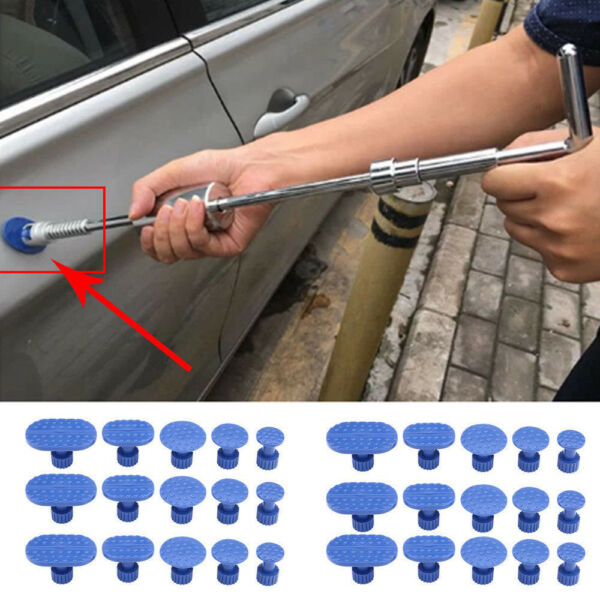 Car Body Dent Removal Pulling Tabs Paintless Repair Tools Glue Puller Tabs Top