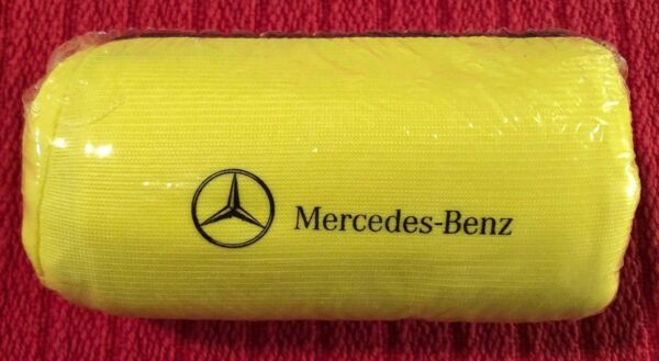 NEW Sealed Mercedes Benz Factory Yellow Warning Safety Vest Jacket A0005834300