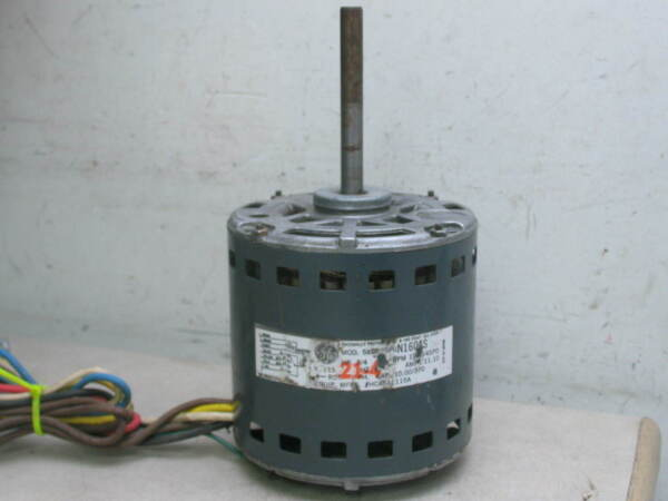 GE Motors 5KCP39PGN160AS Furnace Blower Motor 3 4HP 1075RPM 4SPD 115V HC45AE115A $100.00