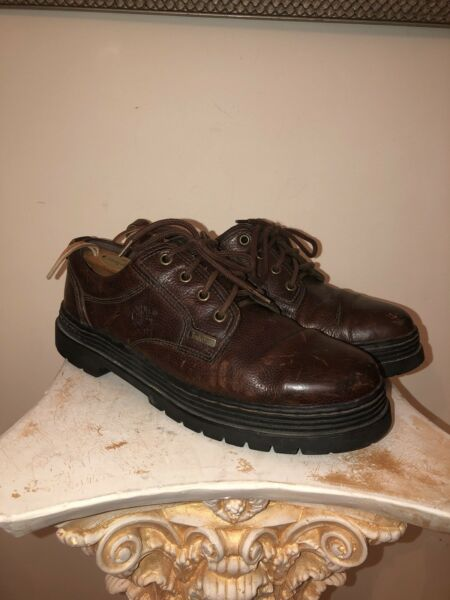 TIMBERLAND Hiking Shoes 11.5 Brown Leather 63053 $37.99