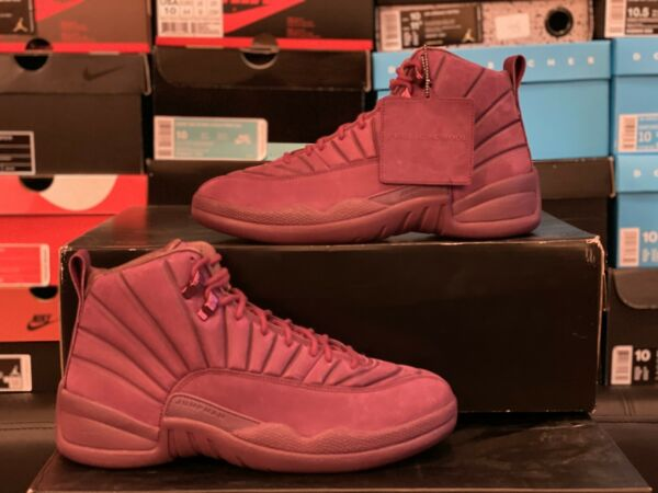 Air Jordan Retro 12 Psny Bordeaux Size 10 Ds New