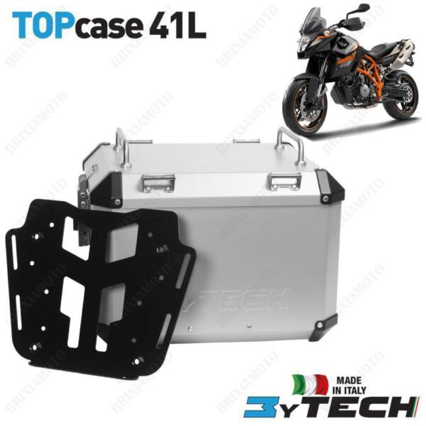 BAULETTO MYTECH ALUMINUM SILVER 41 L WITH PLATE KTM 990 Supermoto  T 1014
