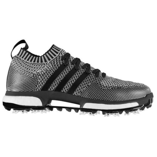 New Mens Adidas Tour360 Knit Golf Shoes Core Black / White - Select Your Sz!