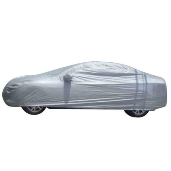 Outdoor Indoor Protection Waterproof Large Size Full Car Cover Sliver