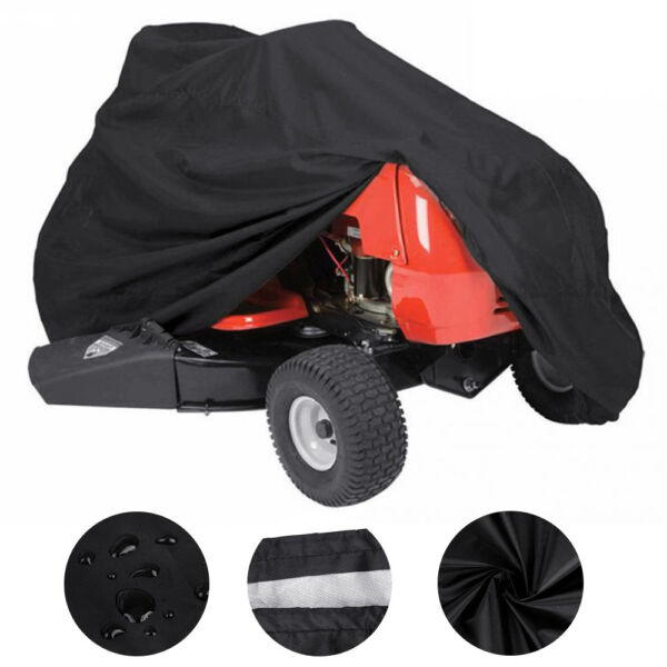 Deluxe Riding Lawn Mower Tractor Cover UV Waterproof Garden Fit Decks up to 72quot; $20.95