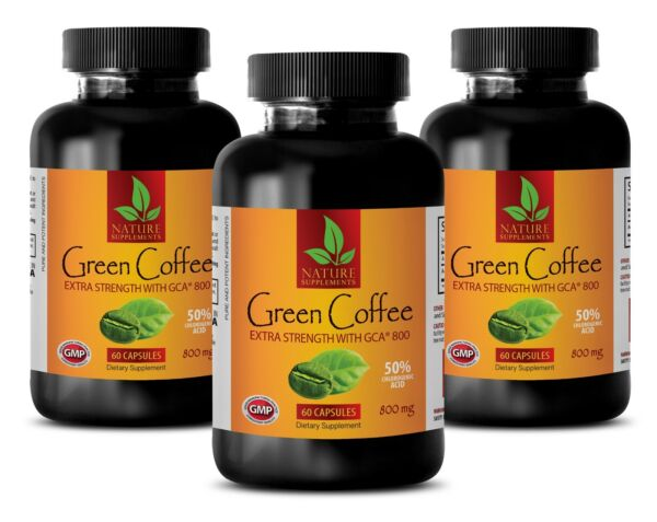 weight loss for men - GREEN COFFEE GCA 800MG 3B - fat burners for men