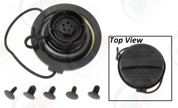 Gas Cap w TETHER Strap for Fuel Tank fits Hyundai