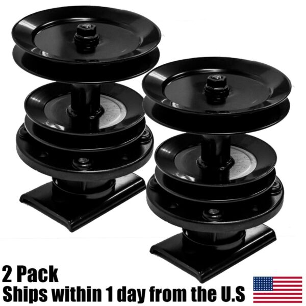 2PK Spindle Assembly for 44quot; Husqvarna Mowers 532121704 532121705