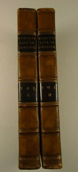 1801 Life of DAVID GARRICK Arthur Murphy ACTOR Author THEATRE MANAGER Producer