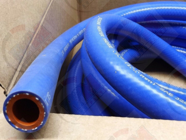 GATES 1 2quot; 12.7mm SILICONE Blue Heater Hose 26240 High Temp. 2 Foot Length $26.90