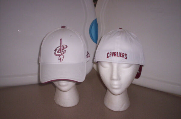 NBA CLEVELAND CAVALIERS AUTHENTIC FLEX FIT HAT BY ADIDAS SIZE OSFA