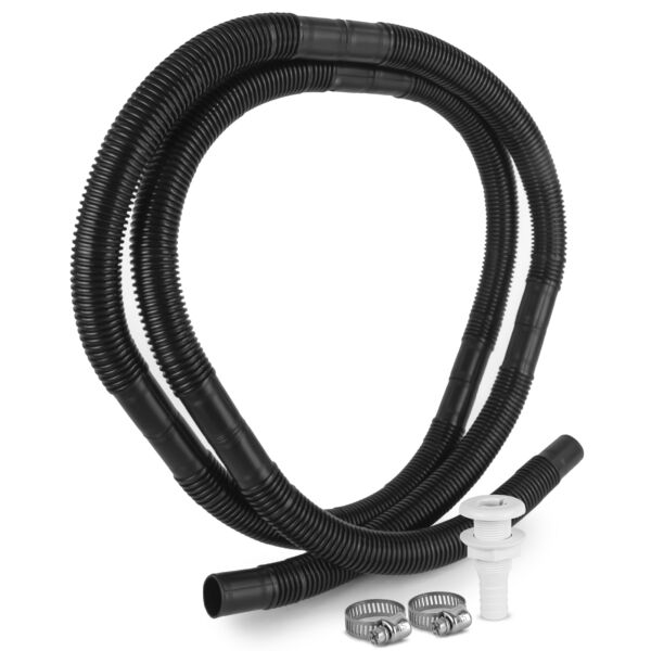 Marine Bilge Pump Plumbing Kit 3 4 IN x 7 FT Hose Five Oceans FO 4329