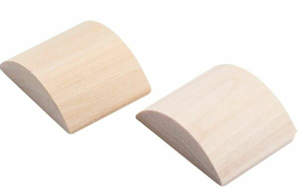 DIY Wood Adapters Fit Your Antique Knobs in Modern Pre Drilled Door $14.99