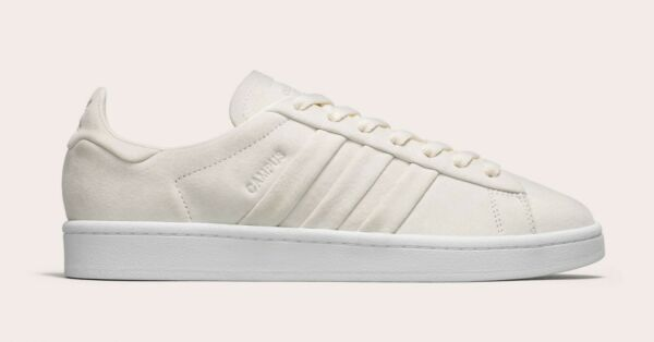 NIB ADIDAS CAMPUS STITCH AND TURN MEN'S SHOES BB6744 BEIGE WHITE SUEDE ALL SIZES
