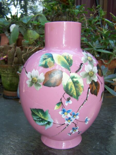 Vintage Hand Painted Bristol Vase Selling for our Year of Jubilee