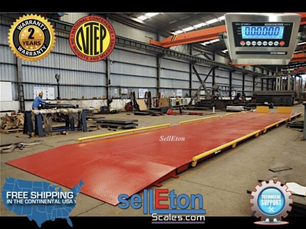 OP-934-30  10' x 30' NTEP Legal for trade Axle Truck cargo Scale with 100000 lb