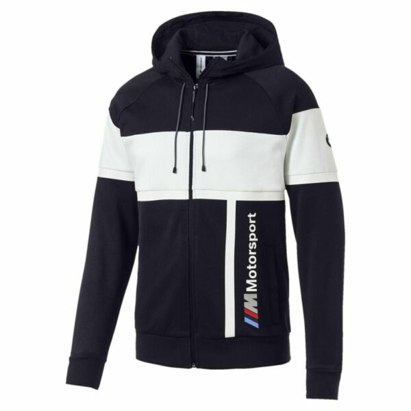 577788 04 Mens Puma BMW Motorsport Hooded Sweat Jacket